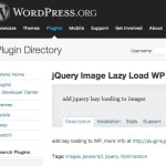 WordPress › jQuery Image Lazy Load WP « WordPress Plugins