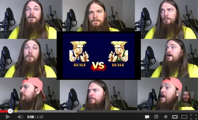Street Fighter 2 - Guile Theme Acapella - YouTube