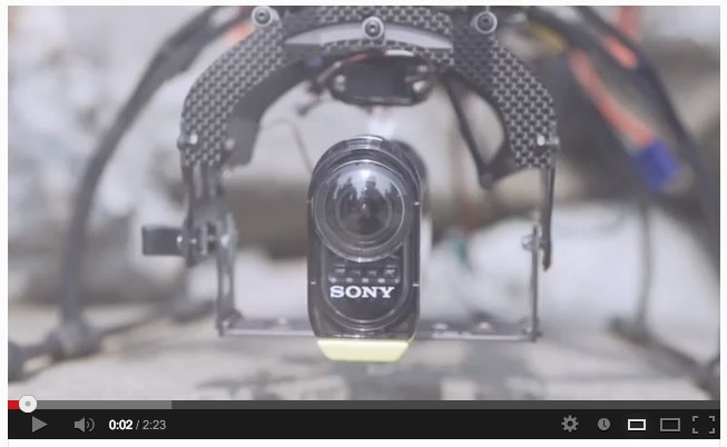 Sony_s Action Cam on RC Helicopter filming 軍艦島 (Gunkanjima _ battleship island) - YouTube-2