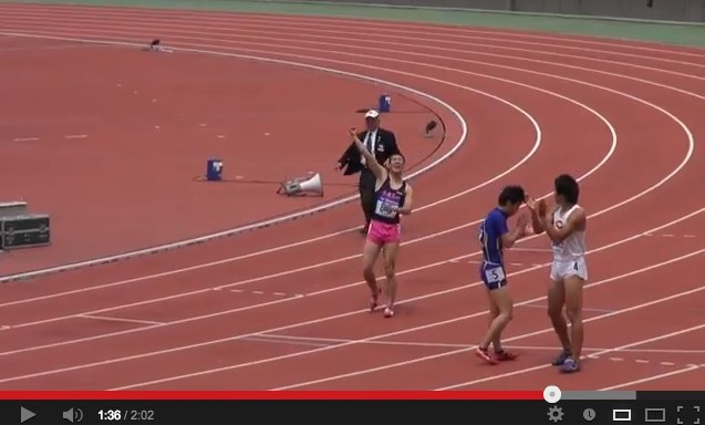 47th M.ODA MEN100M Yoshihide Kiryu 10.01(+0.9) 2013_4_29 - YouTube-4