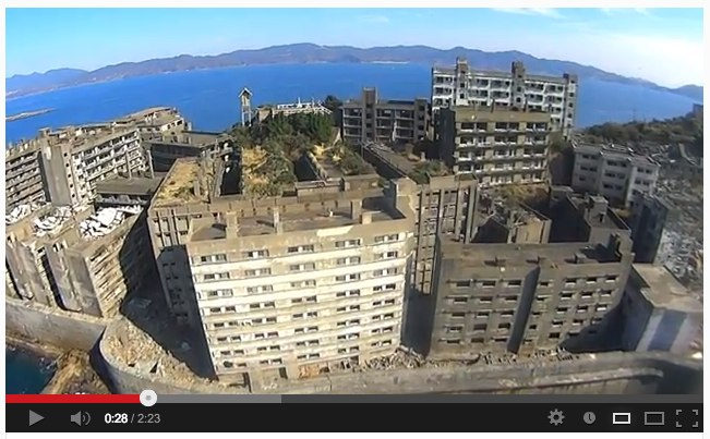 Sony_s Action Cam on RC Helicopter filming 軍艦島 (Gunkanjima _ battleship island) - YouTube-4